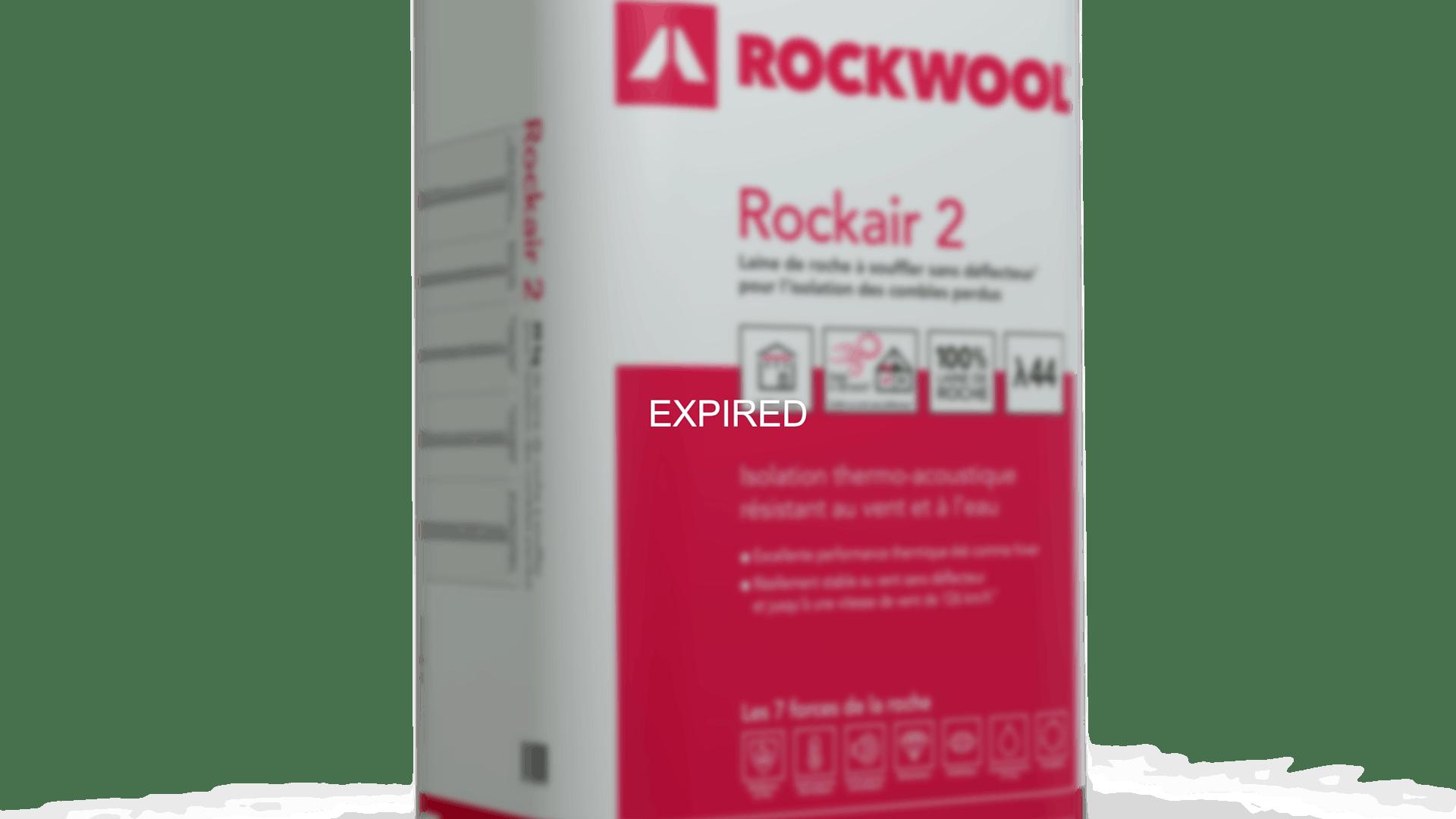 Rockair 2, pack, combles perdus, soufflage, blowing