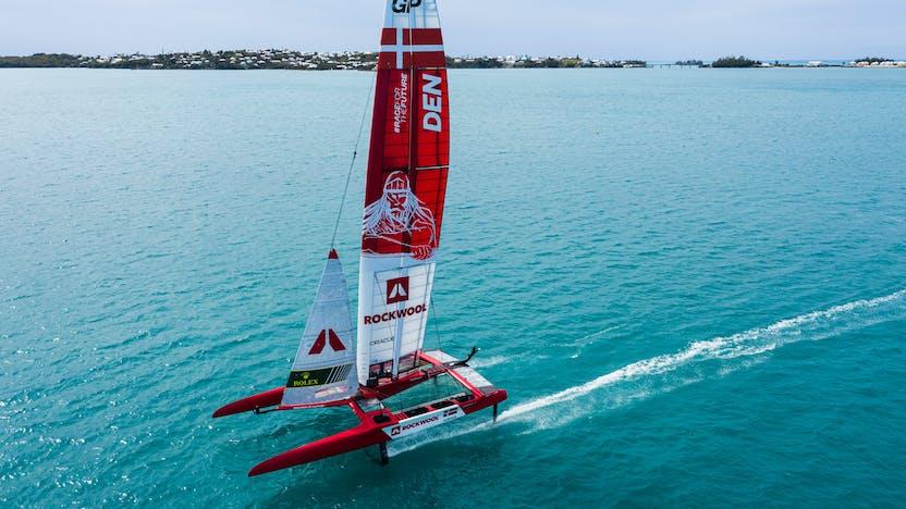 SailGP, ROCKWOOL, Denmark SailGP Team, Bermuda, The Great Sound, Boat, F50