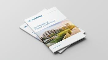document cover, rockfon, environmental product declaration, epd,