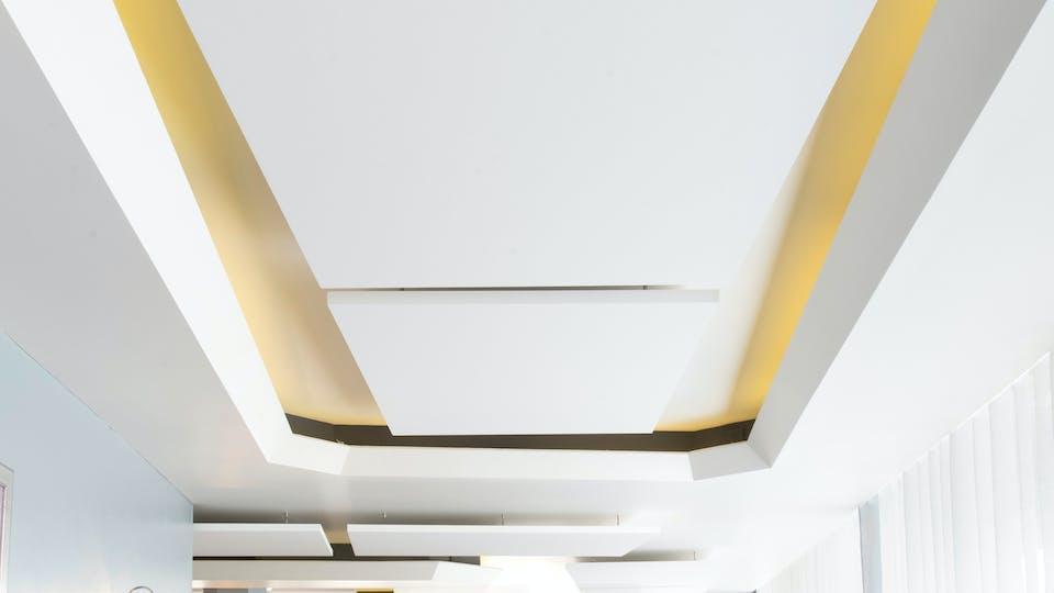 Acoustic ceiling solution: Rockfon Eclipse®, A, 1760 x 1160