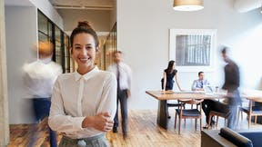 office, work, meeting, people, girl, brand refresh, Rockfon