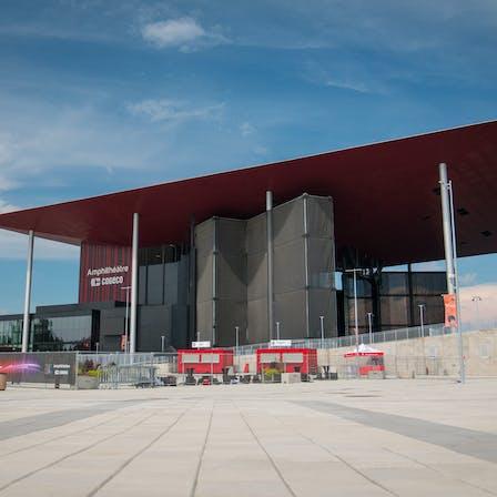 Amphitheatre Case Study 3, auditorium, modern, acoustics, public facility