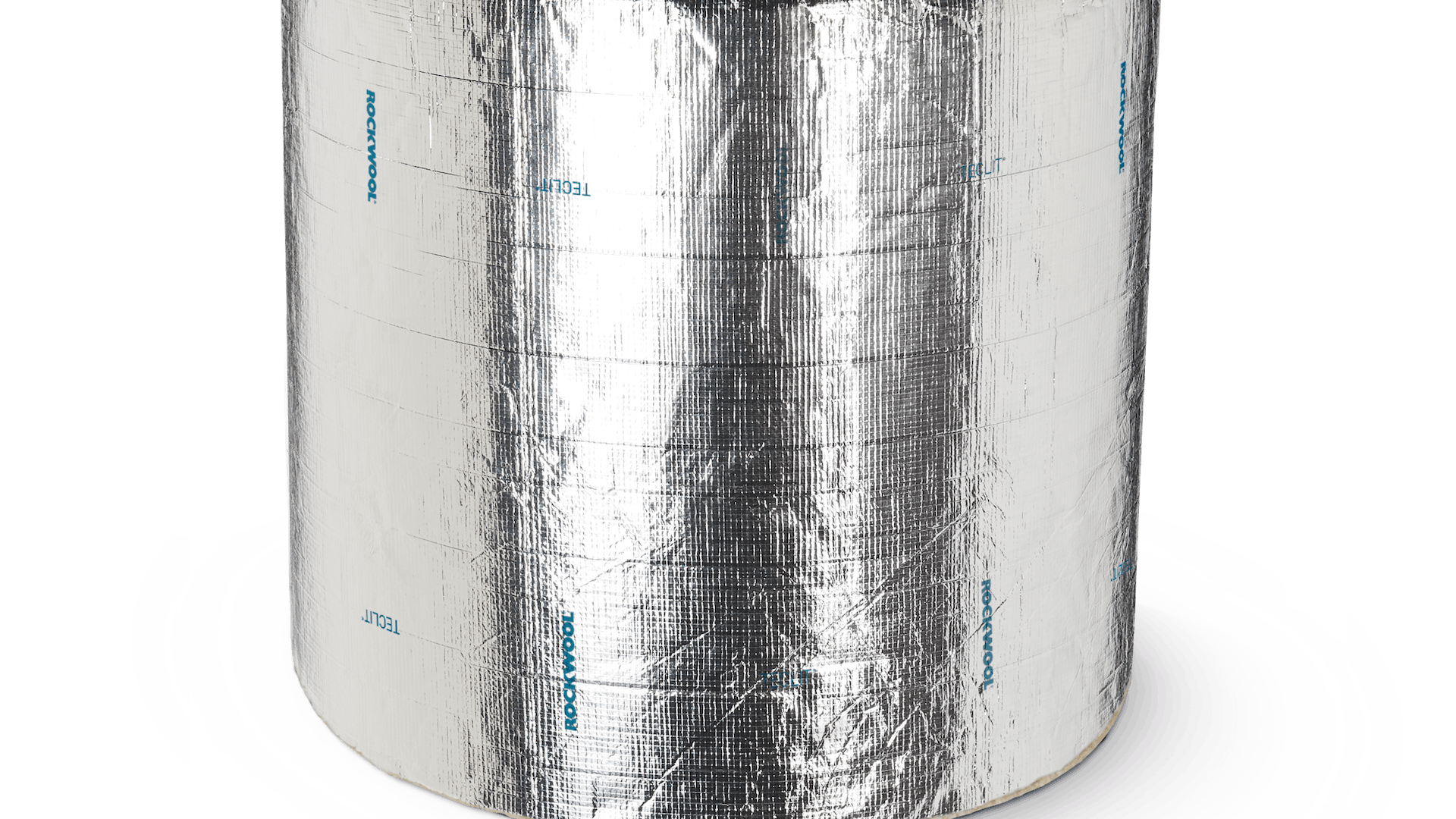 TECLIT LM, lamella mat with strong aluminium foil, HVACR, internal cold insulation, anti-condensation, pipelines, refrigeration, air conditioning, TECLIT System components