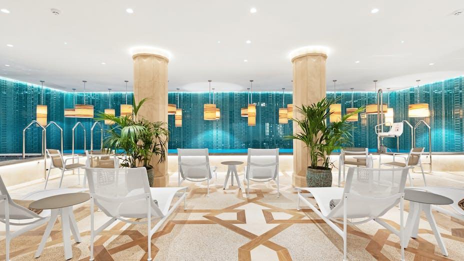 ES, Hotel El Llorenç Parc de la Mar, Palma de Mallorca, Pedro Rabassa, Leisure, Rockfon Mono Acoustic, TE-edge, 1800x1200, White, Hotels