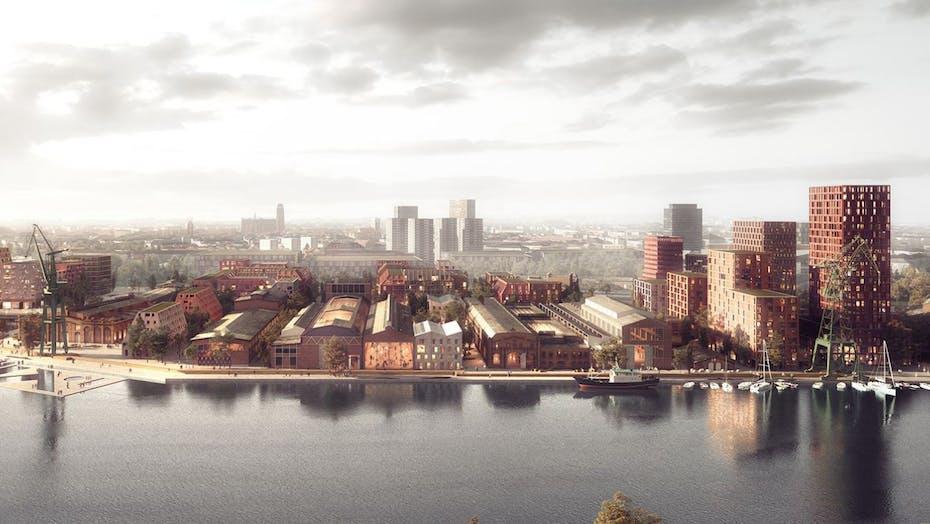 Gdansk Imperial Shipyard renovation project