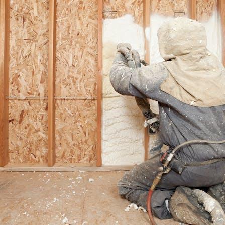 foam, spraying, insulation, construction, internal walls