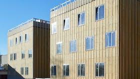 Reference case, Hillerød Sundhedscenter, facade