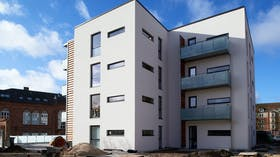 Reference cases, Denmark, Søren Møllers Gades Skole, apartments, facade