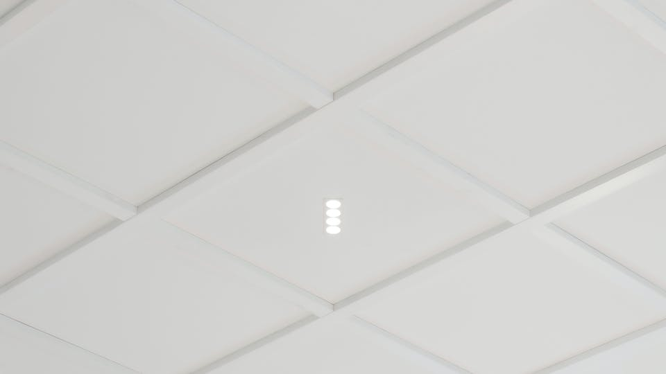 Akustikloft: Rockfon Blanka®, X, 600 x 600