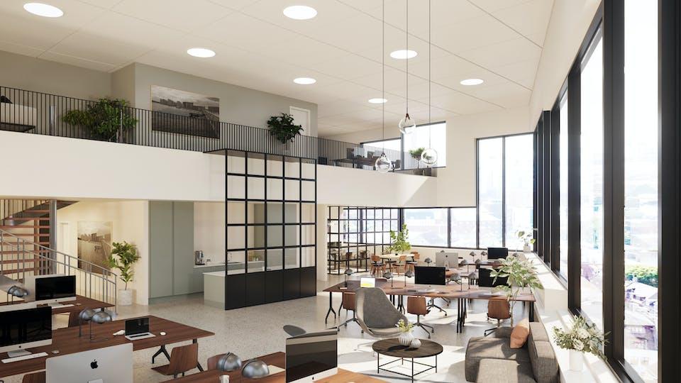 Acoustic ceiling solution: Rockfon Blanka®