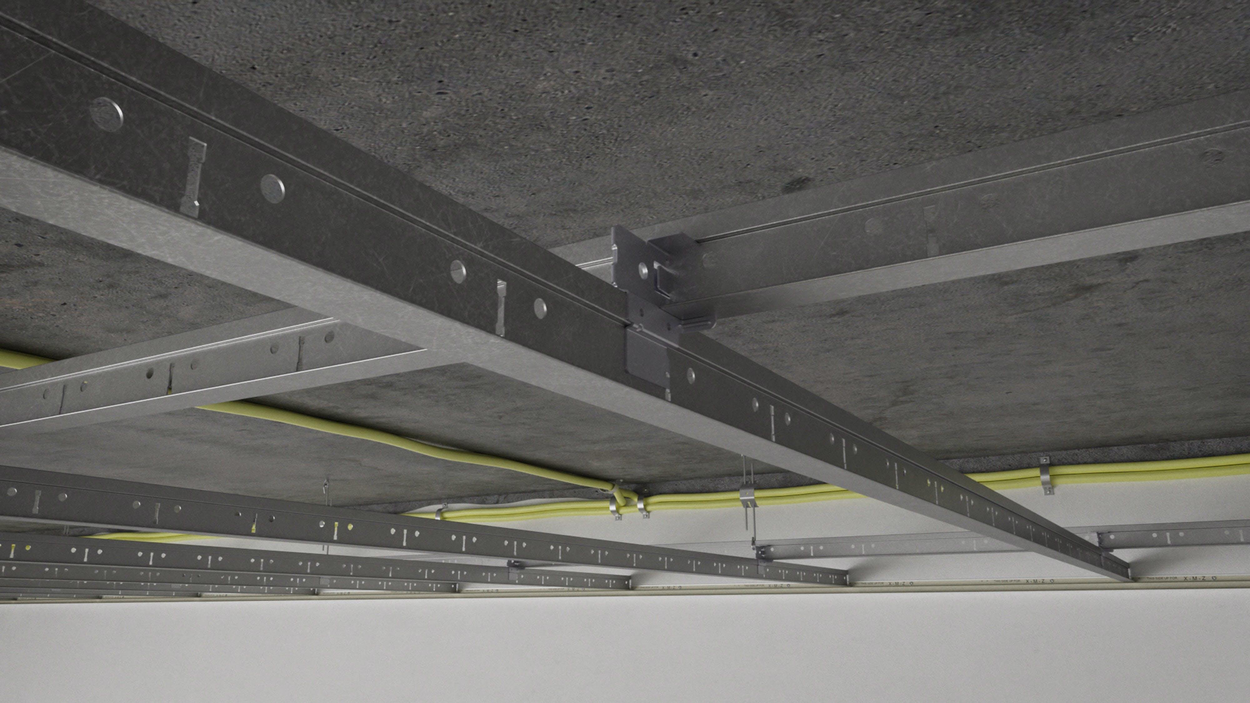 Video thumbnail, installation video, rockfon system T24 X DLC, X-edge, ceiling tile