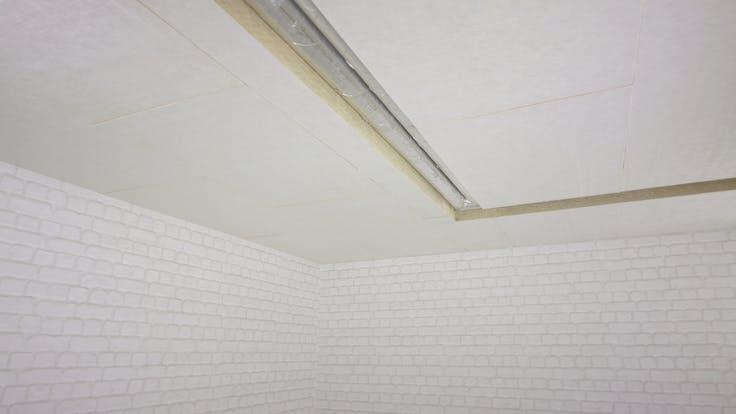 cellar, basement, cellar ceiling, basement ceiling, pipes, pipe insulation, installation, planarock top, rockwool 800, alufix, germany