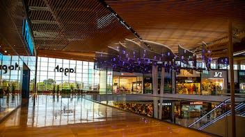 Lagoh Shopping Center, Centro Comercial, Conlit Ductboard, Cinema, HVAC, Fire Protection, Rockpanel, Rockfon,  Rockbardage, Hardrock, REDAir, REDArt, Ventirock Duo, Mono Acoustic, Color All, Alpharock 225, Curro Moreno-Aurioles