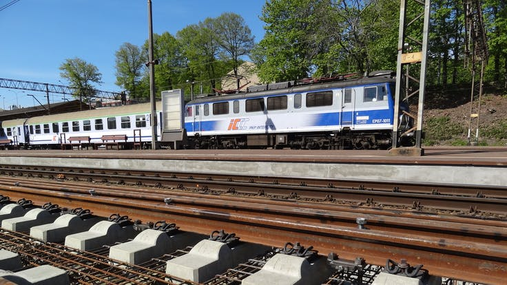case study, Gdansk SKM Line, passenger, transport, railway station, Poland, tracks, rockdelta, lapinus