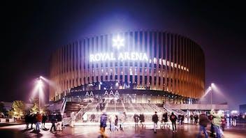 royal arena copenhagen, copenhagen, acoustic, sustainability, marine, offshore, industrial