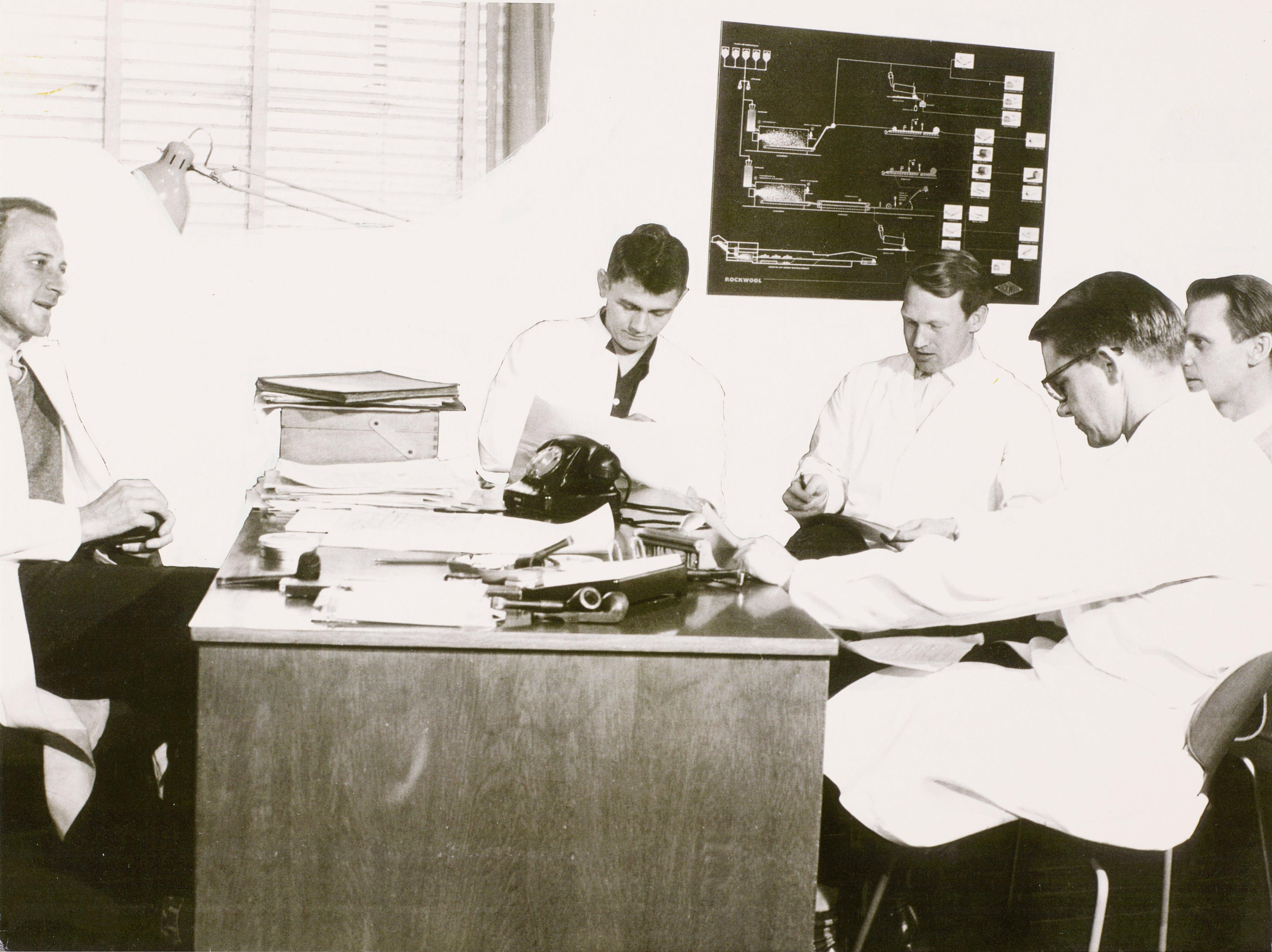 ROCKWOOL Laboratory management 1963
