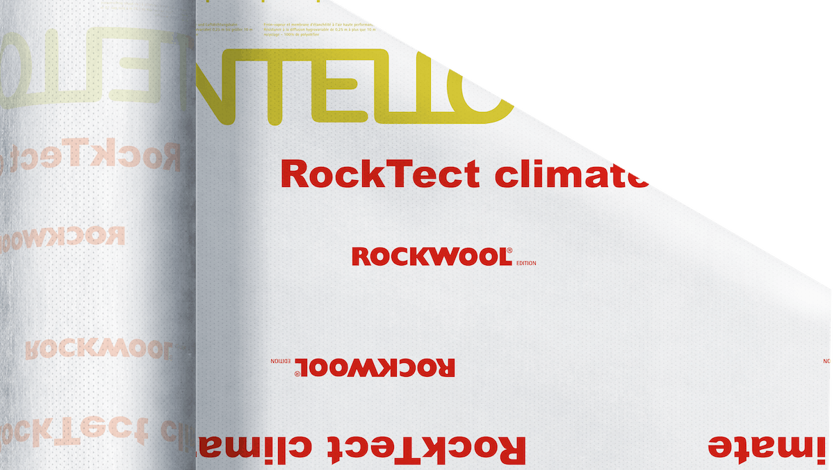 ROCKTECT Intello Climate Plus, piched roof insulation, internal insulation, vapor control layer