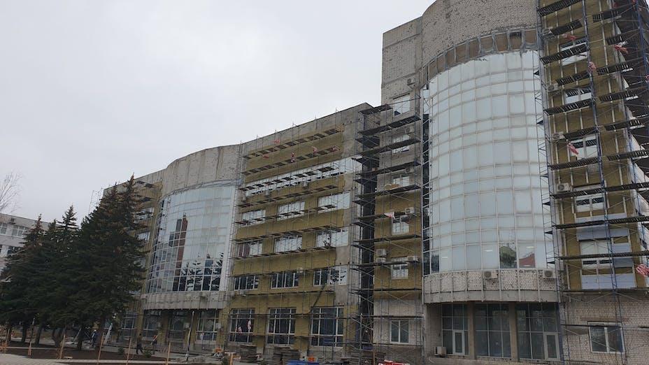 North Caucasus Federal University, energy efficiency, renovation