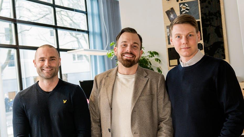 profile picture, team, Robert Cedstram, Niklas Alterlund, Jonny Sylvén, rockfon, stockholm, sweden, SE