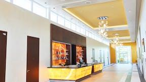 DE, Adendorf, Best Western Premier Castanea Resort Hotel, Exterior, Rainer Adank - Architekt, Lars Behrendt, Leisure, Hotel, Rockfon Mono Acoustic, Seamless, white