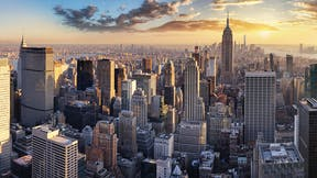 Building, construction, commercial, outdoors, city, skyline