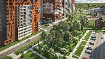 """Residential buildings """"Otrada"""", Moscow, Insulation"""