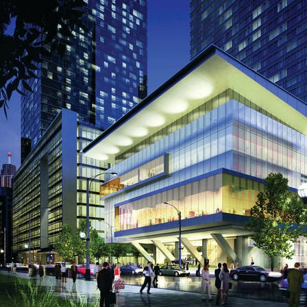 Ritz Carlton Case Study 1, hotel, modern, exterior, city, lights