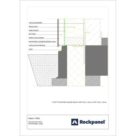 Rockpanel CAD drawing 1-552b