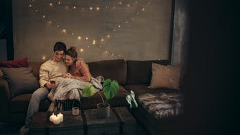 People, Humans, Couple, Home, Indoor