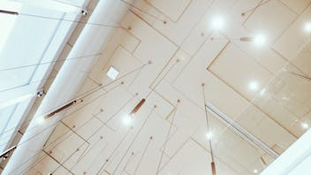 Parafon Step Direct ceiling installed at Flying Cinema Tour in Helsinki, Finland.