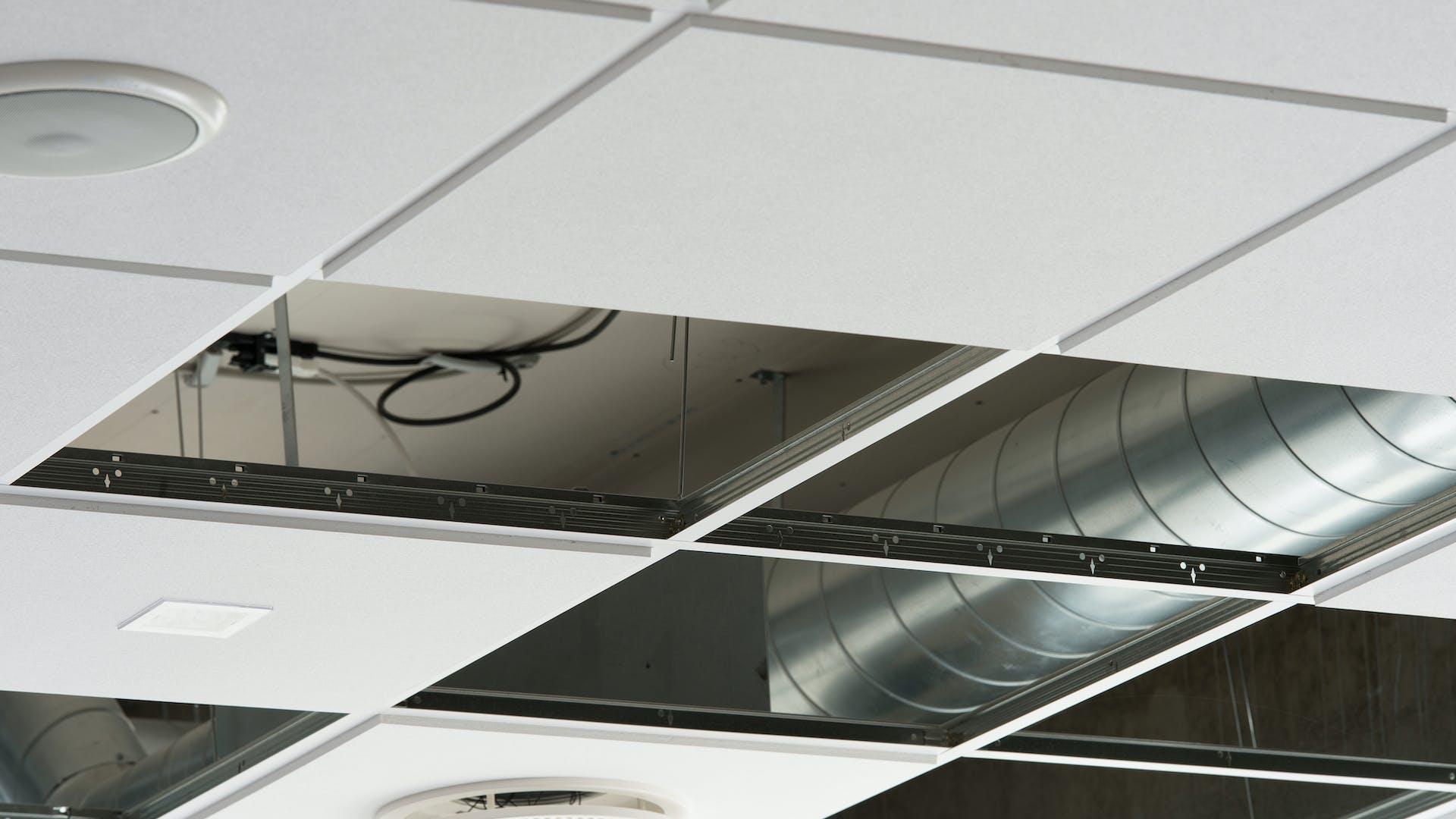 Sydmors Skole school education Sonar E-edge X-edge 600x600 ventilation Rockfon 2013