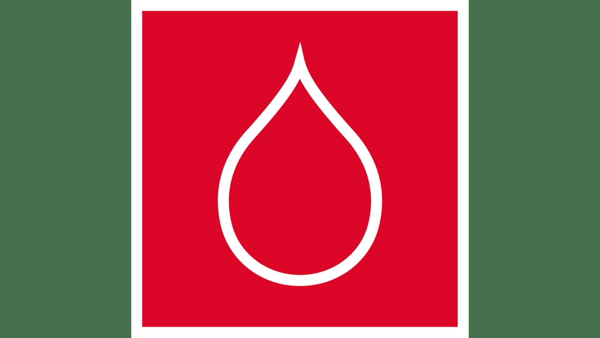 icon, 7 strenghts of stone, white on red background, for website, stärken von steinwolle, weiß auf rot, water properties, wassereigenschaften, germany