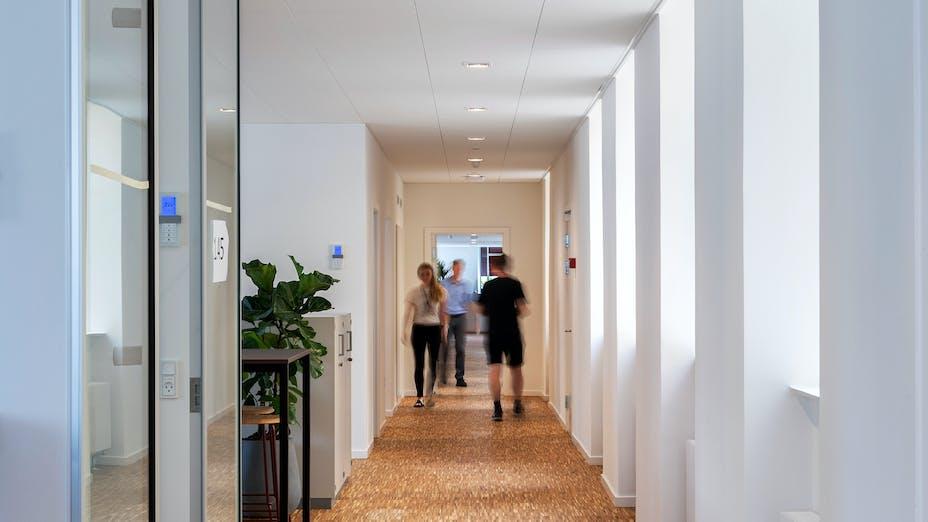 DK, Overformynderiet, Copenhagen, Rørbæk & Møller Arkitekter ApS, Healthcare, Rockfon Sonar, X edge, 1800x600, White, Rockfon System T24 X
