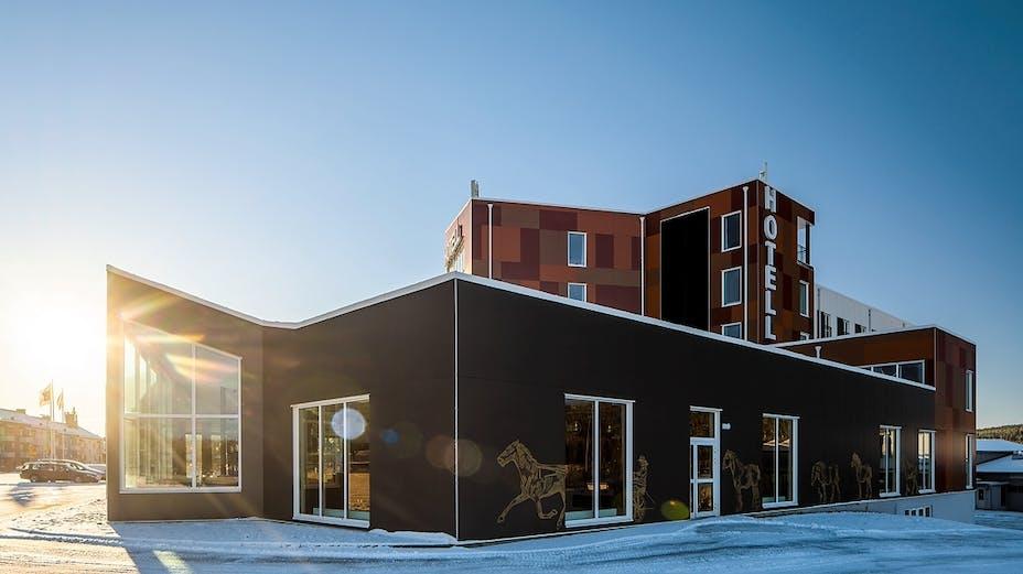 Rockpanel Case Study Sweden - Hotell Årjäng Rockpanel Colours