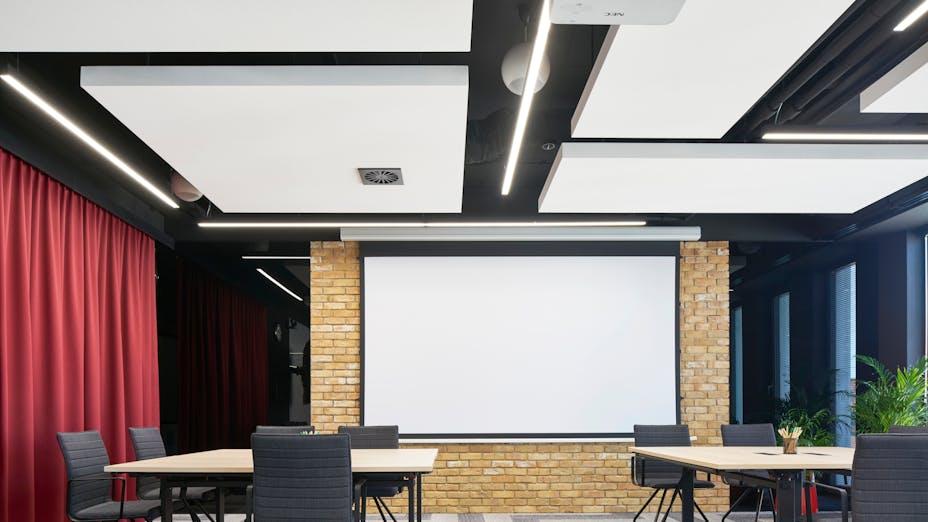 PL, Infor Polska Sp. Z o.o., Wroclaw, The Design Group, Office, Rockfon Mono Acoustic, White, Meeting room