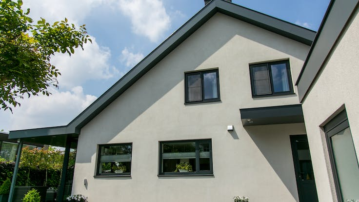Revovation of a private house in Weert, The Netherlands with Rockpanel Colours exterior cladding