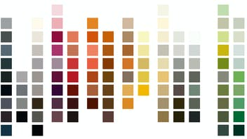 Rockpanel Colours Overview