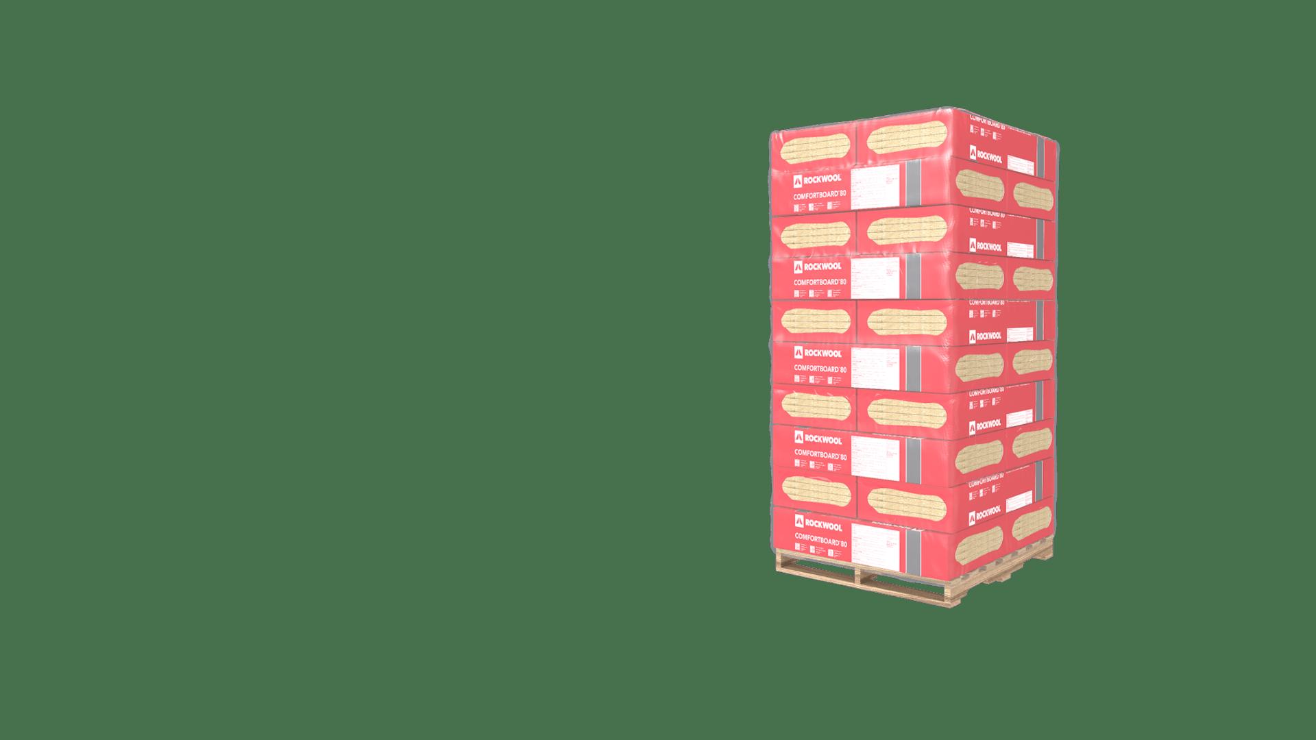 comfortboard 80 pallet - full size