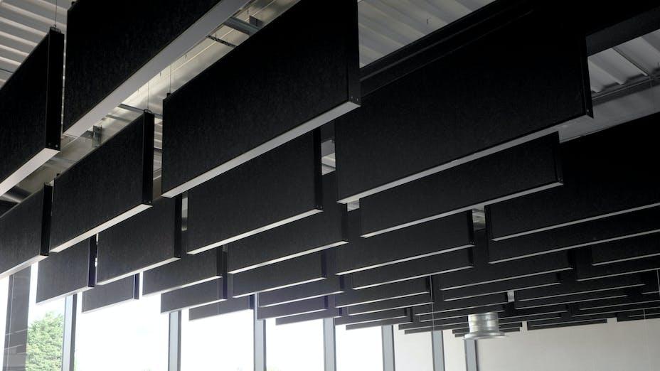 Futures Community College,  Fibral Multiflex black baffles, Sonar E