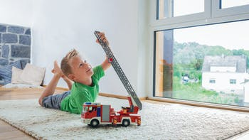 image, living, child, toy, fire truck, family, home, diy, germany, job 5026