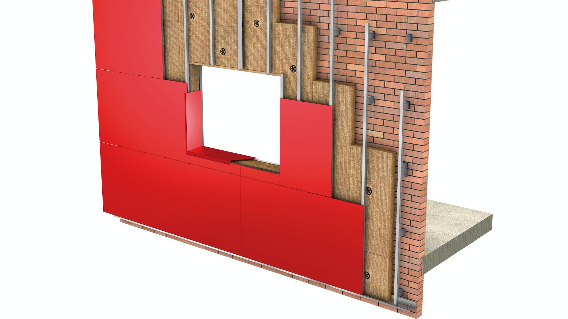 Facade, 01_Fachadas - Aislamiento por el exterior - Fachada Ventilada_Sistema REDAir