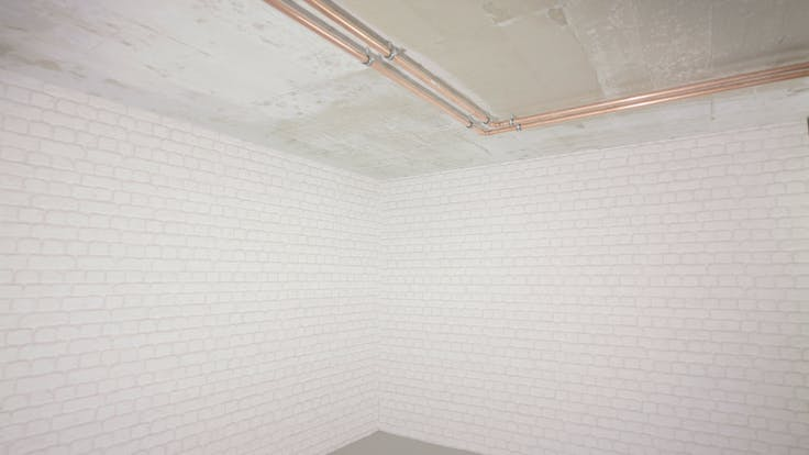 cellar, basement, cellar ceiling, basement ceiling, pipes, pipe insulation, installation, planarock top, germany