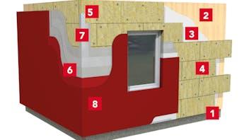 REDArt ETICS - sisteme de termoizolare exterioară