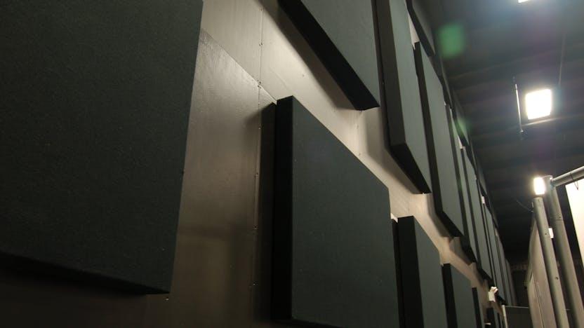 Metlspan case study 1, acoustics, sound, panel, sound proof, acoustic properties, theatre, auditorium
