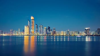 Abu Dhabi, city, urban, water