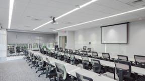 NA, Movement Mortgage, office, Infinity, metal, perimeter trim, 4000 Tempra, suspension system, grid, Artic, SLN, 2x2, acoustics,