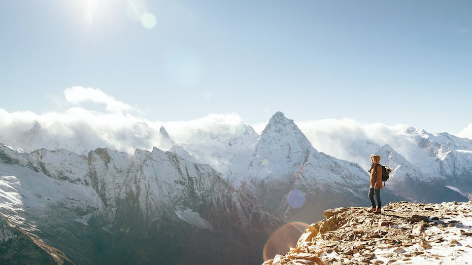 RockWorld imagery, The big picture, mountains, view, snow