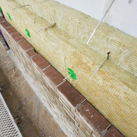 kernrock 033, kerndämmung, dämmung zweischaliges mauerwerk, wärmeschutz, core insulation, insulation of double-layer masonry, wall insulation, thermal insulation, press, presse, Germany