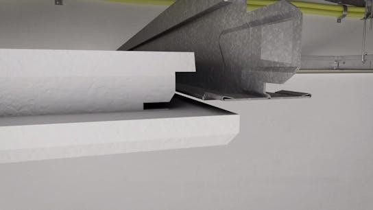 Video thumbnail, installation video, rockfon system T24 X, X-edge, ceiling tile