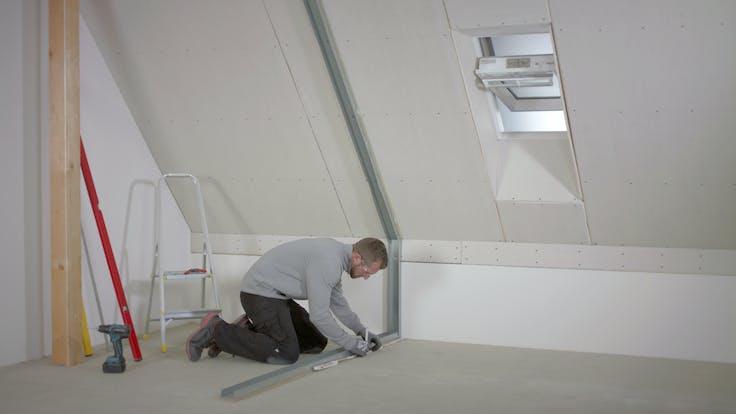 partition wall, inner wall, installation, trennwand,  innenausbau, sonorock, germany